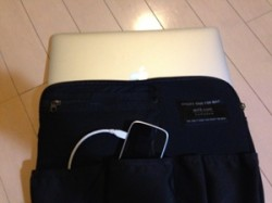 nomadeeにMacBook Air13インチを入れてみたところ