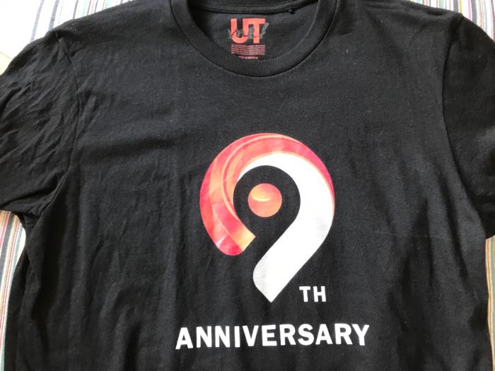 ChatworkからTシャツが届きました。